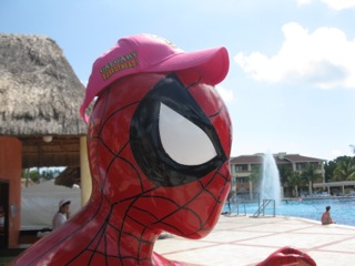 Spiderman Puerto Calgary PHC Traveling Hat