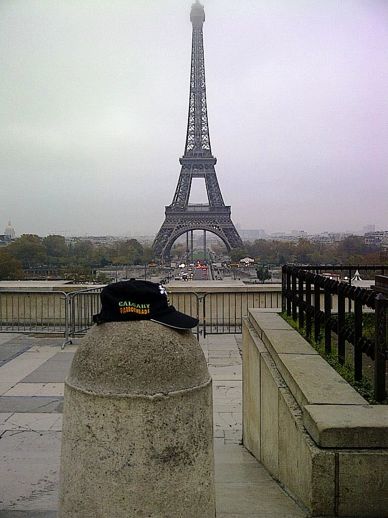 Traveling Hat in Paris